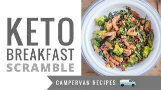 Keto Camping Breakfast Scramble - No Eggs! LCHF - Low Carb - Keto - Paleo Breakfast Idea