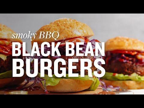 Sweet Potato Black Bean Burgers   Minimalist Baker