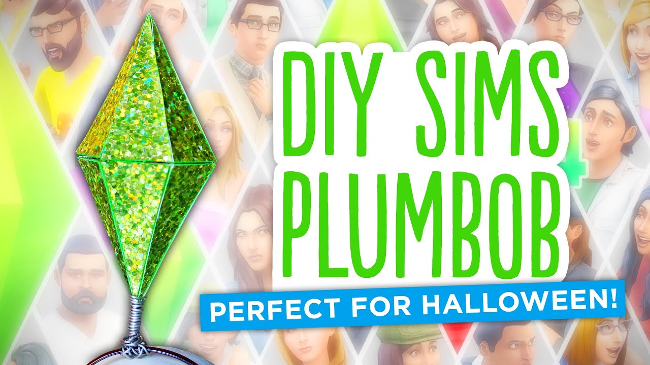 youtube diamond sims easy watch diy halloween plumbob costume sim