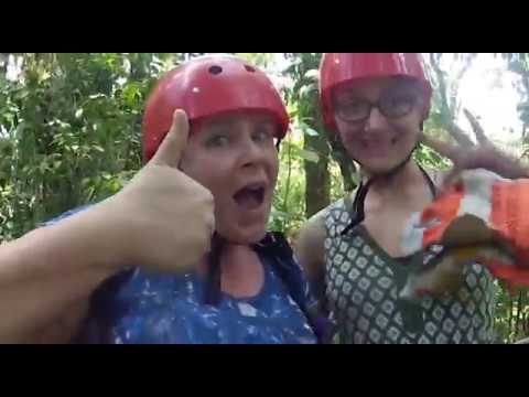 Visit Costa Rica: Zip-lining through the cloud forest