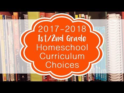 2017-2018 1st Grade Homeschool Curriculum Choices (With The Help Of My Boys)