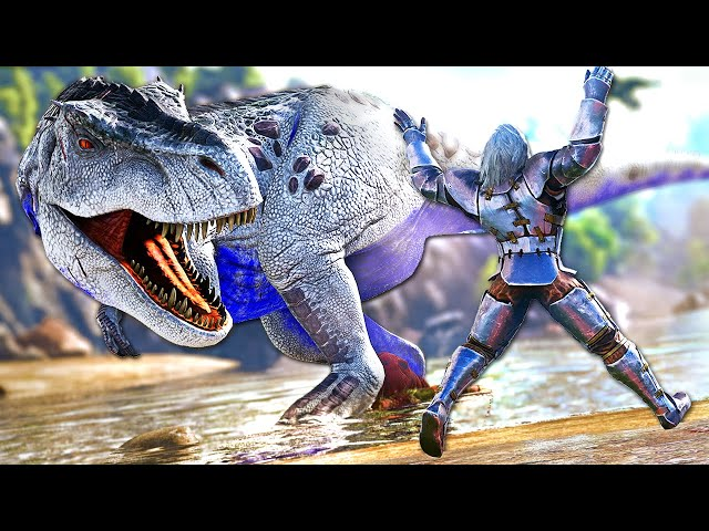 Fighting This OMEGA Dinosaur Might Have Been A Dangerous Move! | ARK O-MEGA Modded #29