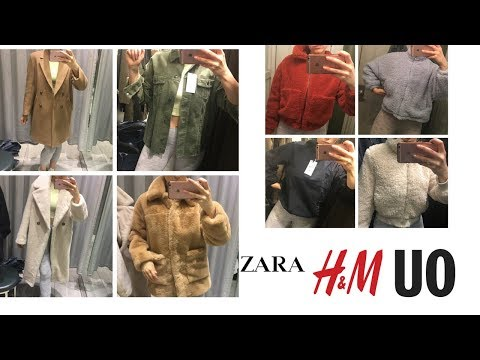 FALL 2018 Coat + Jacket TRY ON | ZARA, HM, URBAN OUTFITTERS