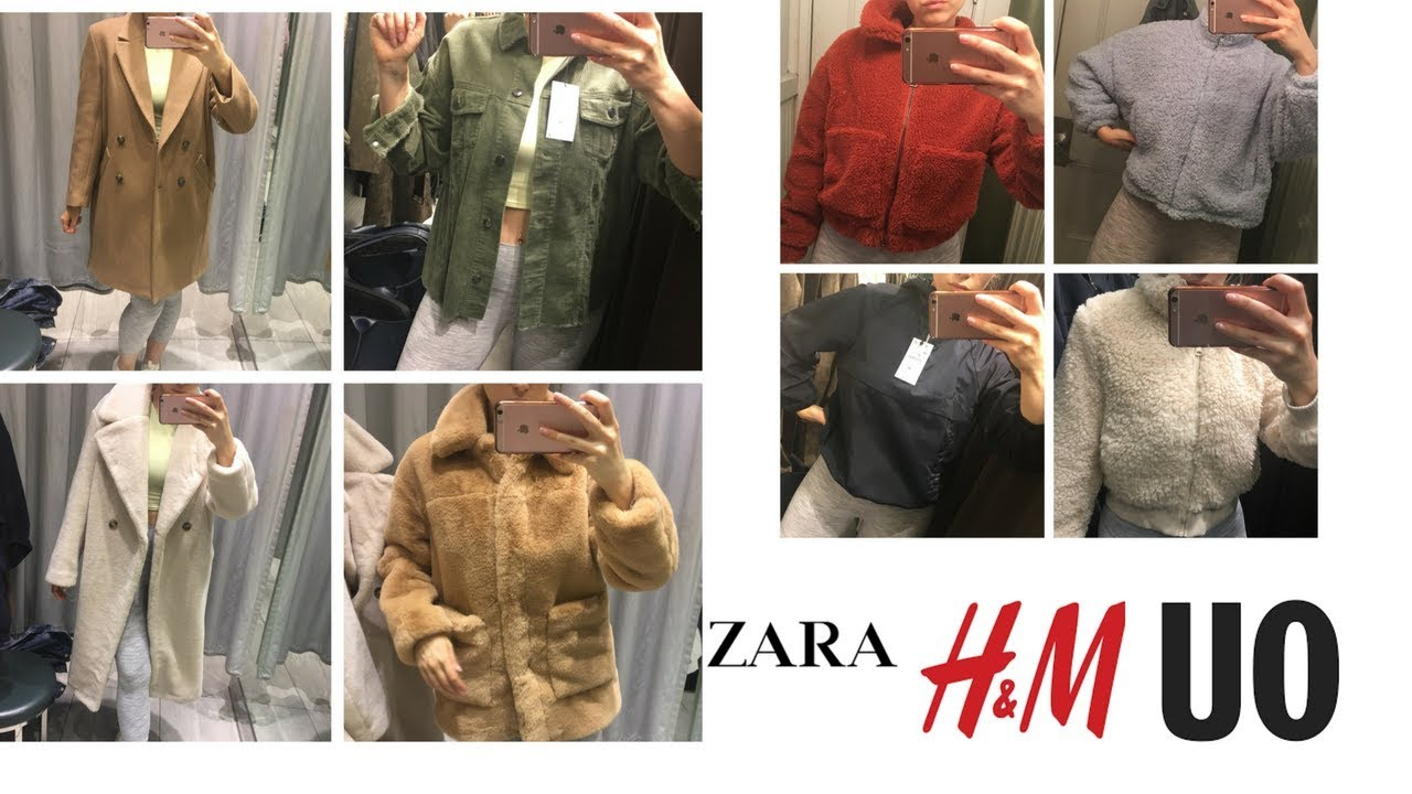 50599ae4 FALL 2018 Coat + Jacket TRY ON | ZARA, HM, URBAN OUTFITTERS - YouTube