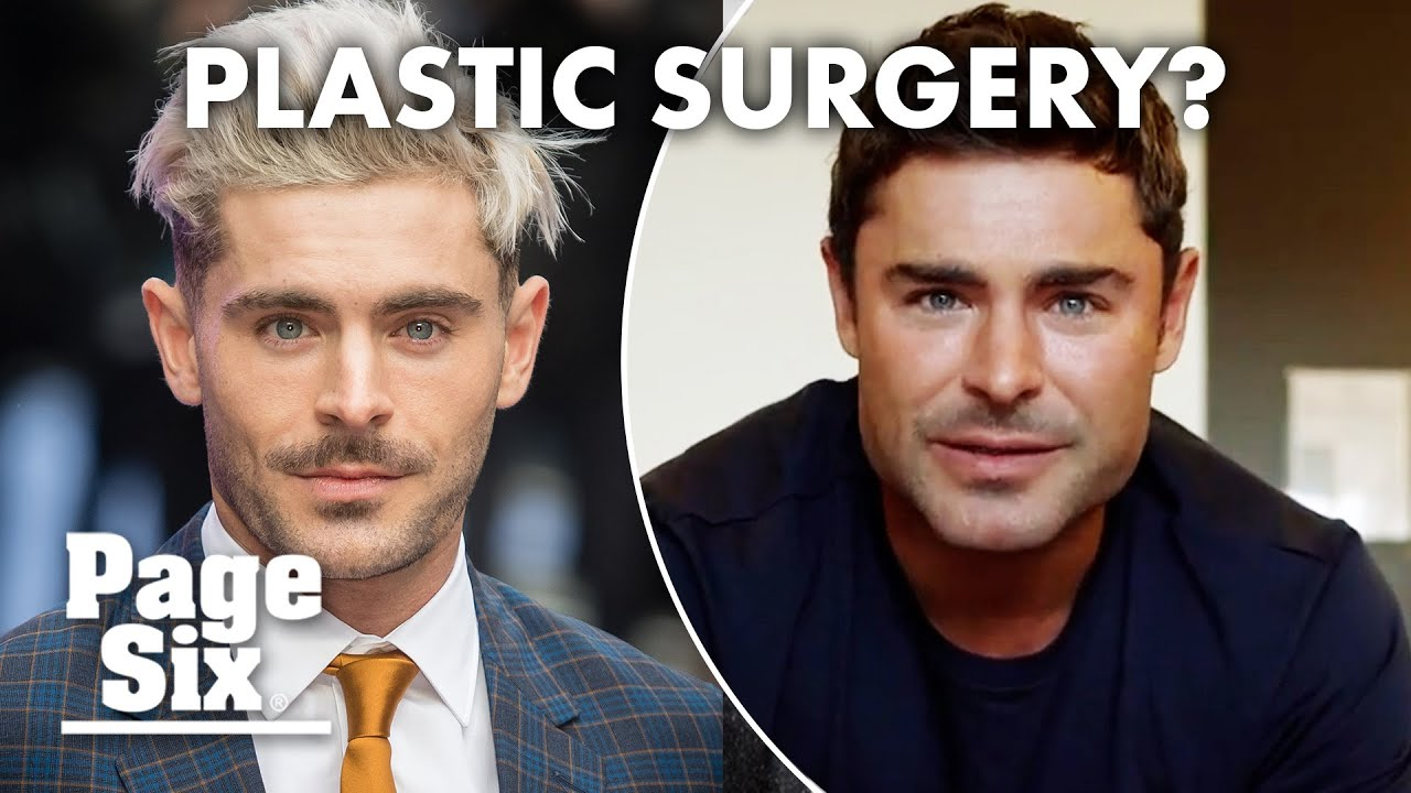 New clip of Zac Efron sparks plastic surgery rumors | Page Six Celebrity News