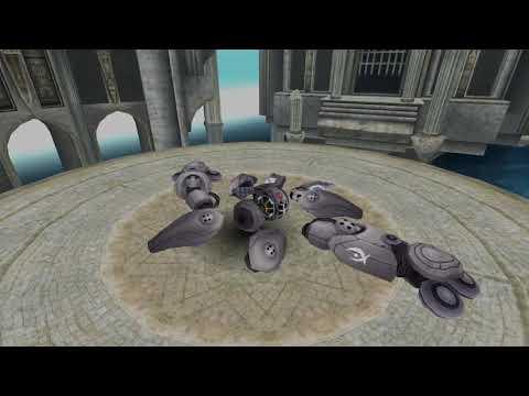 Toram - Online Meghi Load Gun fu solo (~Ferilen No hit fall video) -1-