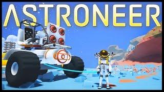 ASTRONEER - SPACE! Spaceship, Orbit, Base Expansion & Deep Cave! - Astroneer Gameplay Part 4