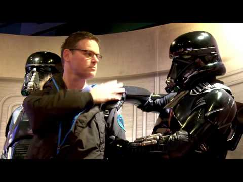STAR WARS | Death Troopers from Rogue One prank Disney Store shoppers | Official Disney UK
