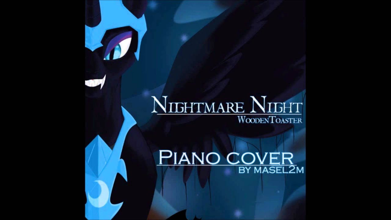 Nightmare Night Woodentoaster Mic The Microphone Piano Cover
