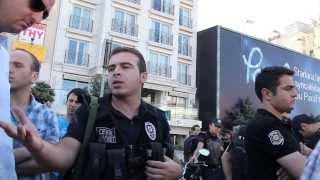 Gaz Bombasi Atan Polislerin fikirleri