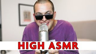 I GOT HIGH AND TRIED ASMR... | Chris Klemens