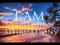 I AM Affirmations  Quick Boost of Confidence  Positive Energy  amp  Happiness   852Hz  amp  963Hz Meditation
