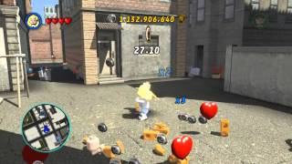 LEGO Marvel Super Heroes The Video Game - The Invisible Woman free roam