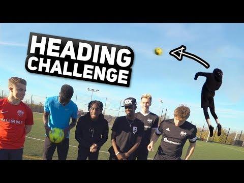 THE HEADING CHALLENGE!!!