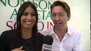 Gianluca Mech con Elisabetta Gregoraci a Sana 2012