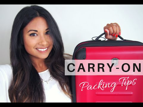 HOW TO PACK CARRY-ON LUGGAGE | Travel Essentials, Packing Tips + What's In My Bag | Go Live Explore