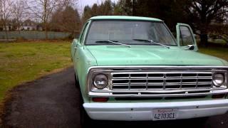 1975 Dodge D100