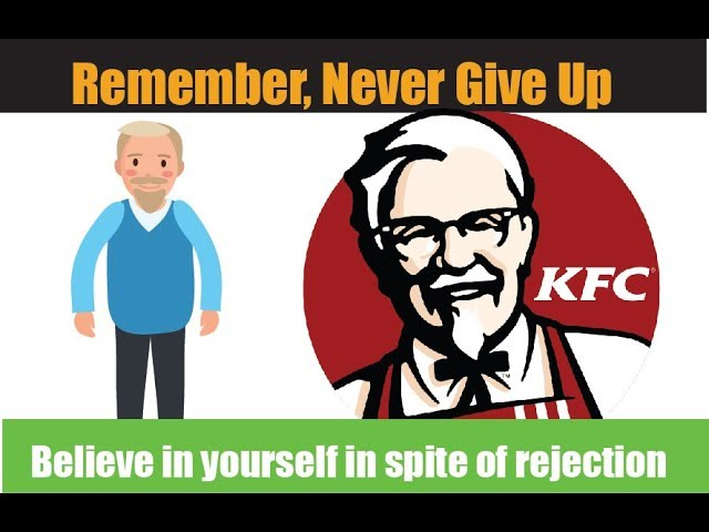 It is not too late to Start again l KFC is an example