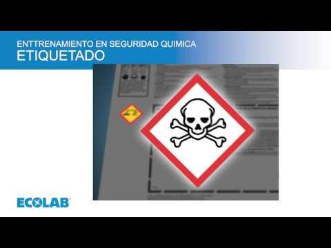 Ecolab Chemical Safety Training Module 3 Labeling Spanish