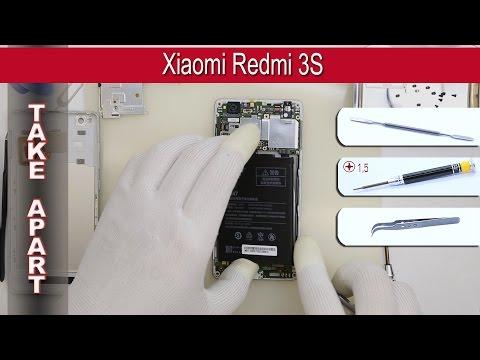 How To Disassemble 📱 Xiaomi Redmi 3S 2016030 Take Apart Tutorial
