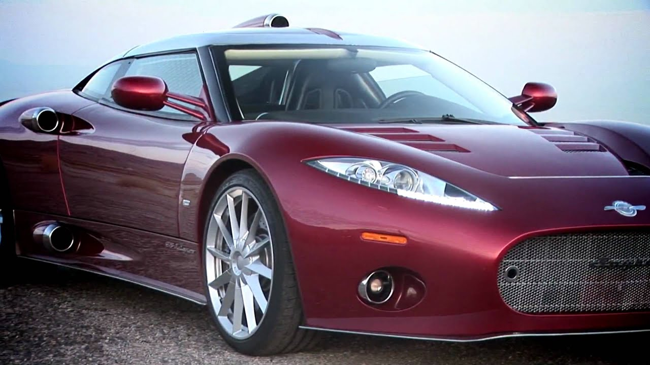 First Drive: 2009 Spyker C8 Aileron Video