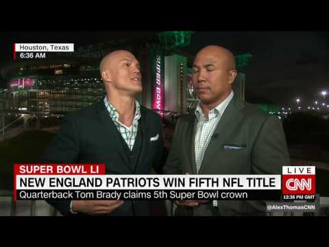 Super Bowl 51 Wrap-up on CNNi - Coy Wire & Hines Ward