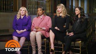 Taylor Swift, Jennifer Hudson, Rebel Wilson, Francesca Hayward Spill 'Cats' Secrets | TODAY