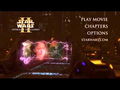 Star Wars Episode II Attack of the Clones DVD Menu 1