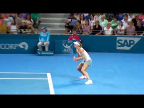 Maria Sharapova - Receiving