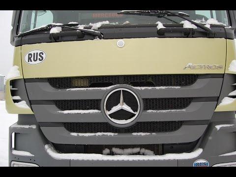 Тягач Mercedes Benz Actros 1846 Megaspace Обзор