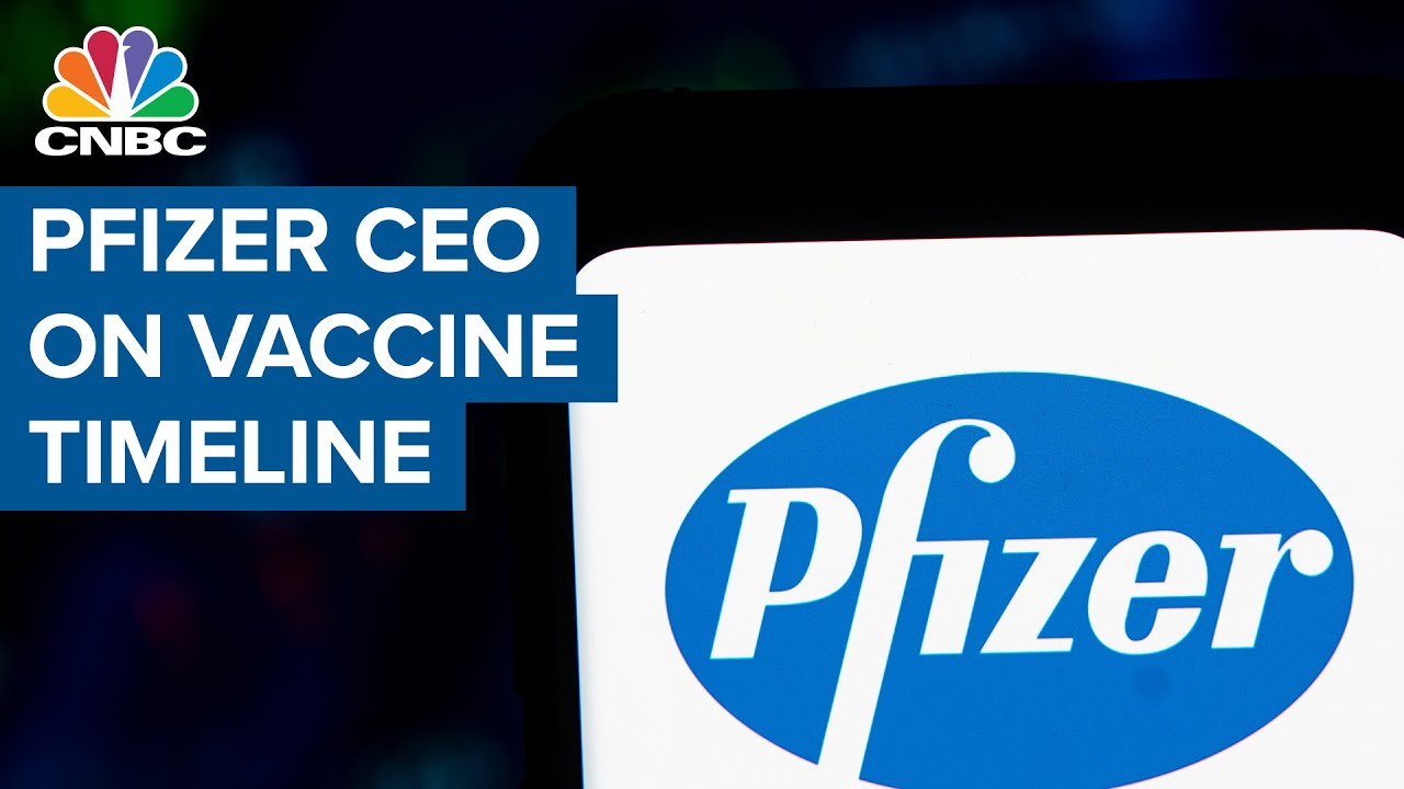 Pfizer Ceo Bourla On Coronavirus Vaccine Timeline Youtube