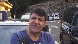 Los vecinos están preocupados por el incendio de Canarias