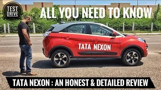 TATA NEXON MOST DETAILED REVIEW, TEST DRIVE, PRICE, HONEST OPINION