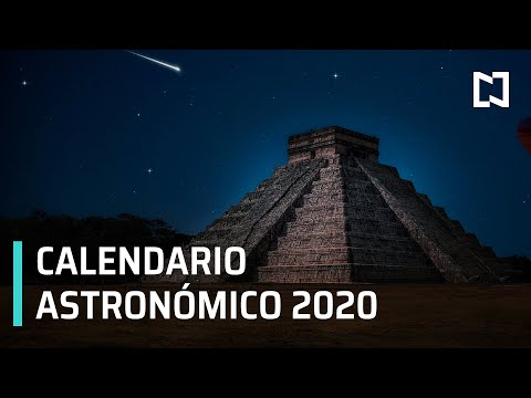 Calendario de eventos astronómicos para el 2020 - Despierta
