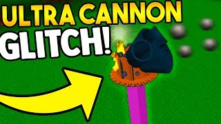 CUSTOM CANNON GLITCH! (dont tell Owner) | Build a boat for Treasure ROBLOX