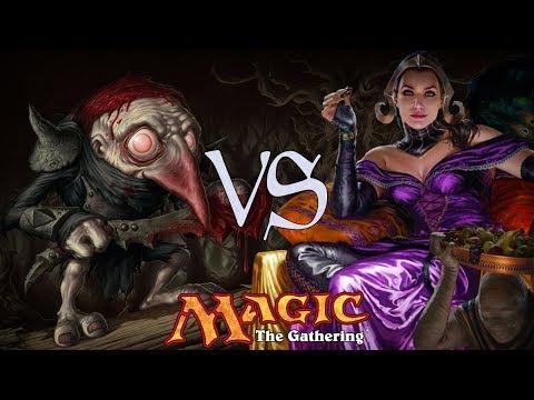 MtG Modern Gameplay - Prospector Goblins VS Dimirdrazi Control
