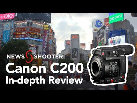 In-depth Canon C200 Camera Review