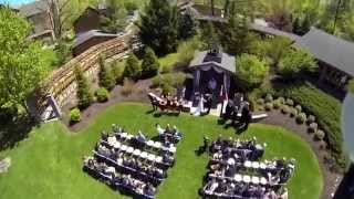 Wedding Rings delivered via DJI Phantom Quadcopter