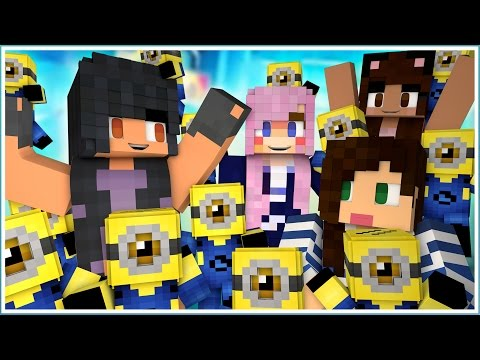 Minecraft Minions Hide n' Seek | Ladies Play!