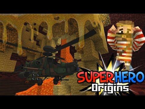 HONEY HEIST! PRACTICE! - Minecraft Super Hero Origins #7 (Modded Minecraft Roleplay)