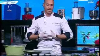 سبانخ بالحمص و شوربة فريك - شيف علاء الشربيني - لقمة هنية