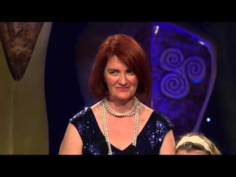 Emma Donoghue 'Room' Winner Best Scriptwriter Film Award - IFTA 2016