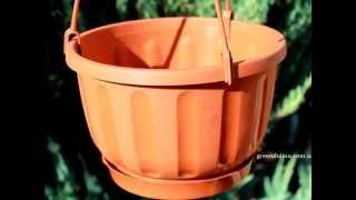 Подвесные горшки, вазоны и кашпо для цветов(, 2015-01-23T13:40:24.000Z)