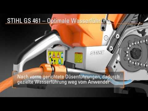 Gesteinschneider STIHL GS 461   -   LAYER-Grosshandel
