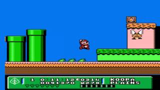 SMB3 Mario Adventure - SMB3 Adventure (Hack) - World 1-1 - User video