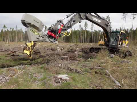 Bracke P11 a   Planting machine