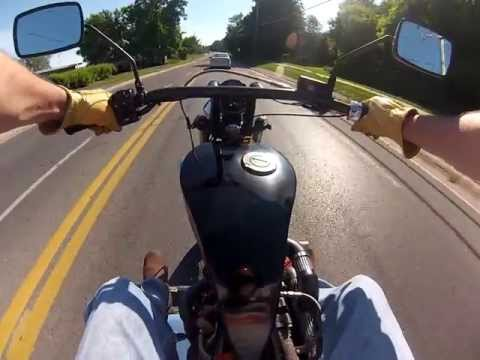 Turbo Diesel Motorcycle Ride