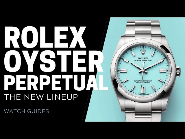 Rolex Oyster Perpetual 2020 Collection Review | SwissWatchExpo