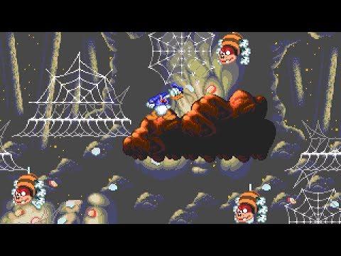 [Full GamePlay] World Of Illusion (as Donald Duck) [Sega Megadrive/Genesis]