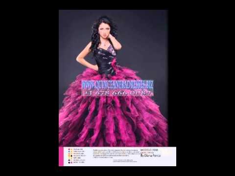 b455650e449 87.Bella Sera quinceanera dresses.flv - YouTube